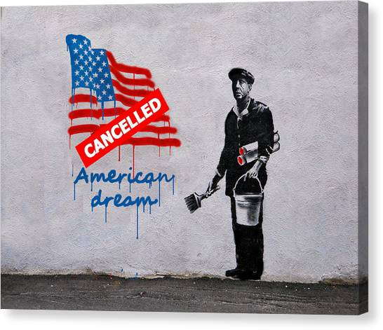 American Dream Canvas Print
