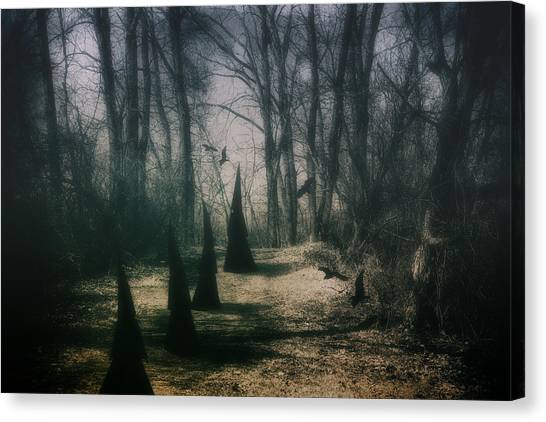 Dirt Road Canvas Print - American Horror Story - Coven by Tom Mc Nemar