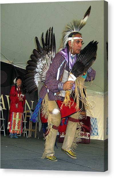 American Indian Dance Canvas Print by Bill Marder