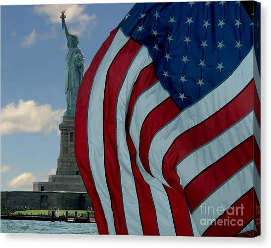 American Liberty Canvas Print