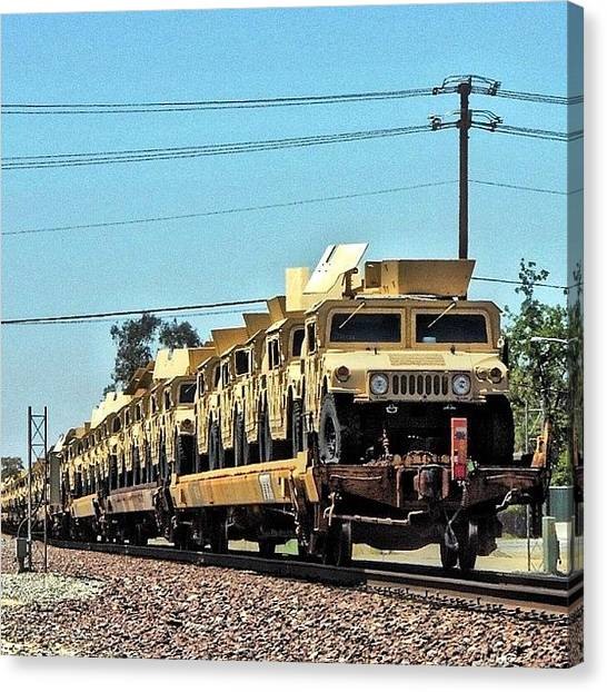 Locomotive Canvas Print - American Metal ~ Corron Xtrillion by Glen Campbell