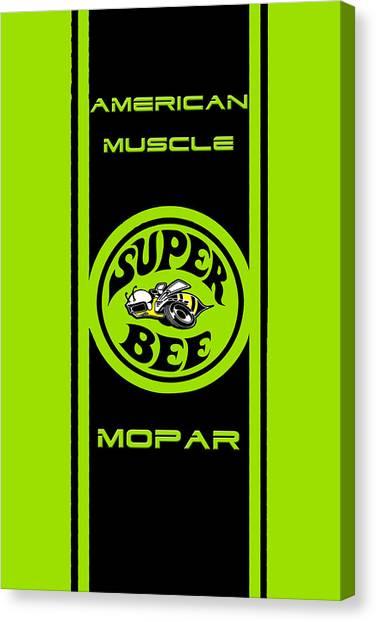 American Muscle - Mopar Canvas Print