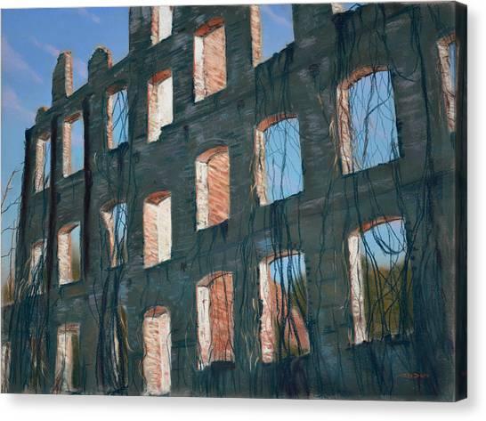 American Ruins Canvas Print