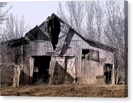 Old Door Canvas Print - American Rural by Tom Mc Nemar
