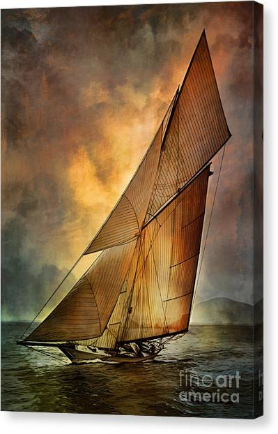 America's Cup  Canvas Print