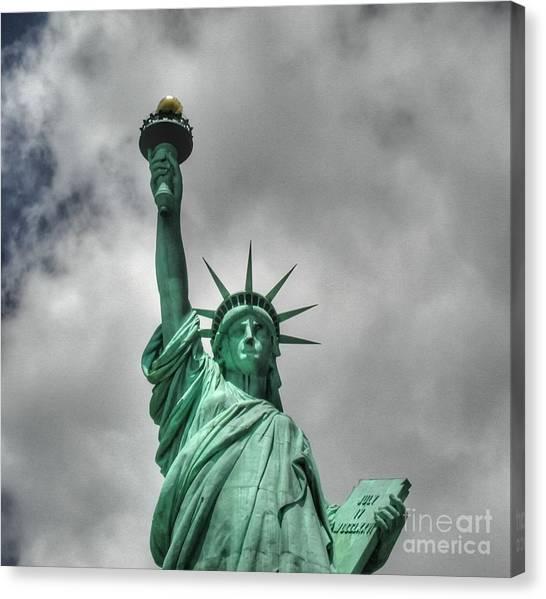 America's Lady Liberty Canvas Print