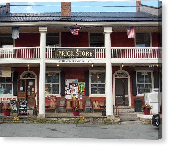 America's Oldest General Store Canvas Print