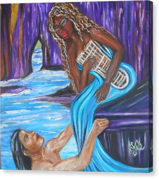 Amethyst - The Siren Canvas Print