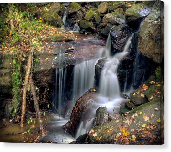 Amicalola Waterfall Canvas Print