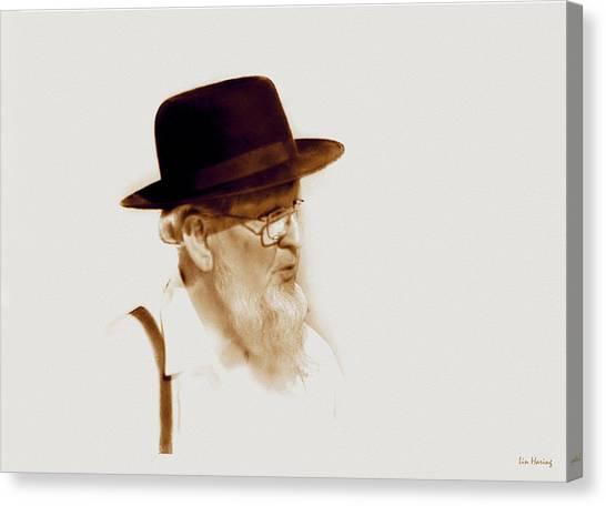 Amish Man  Canvas Print