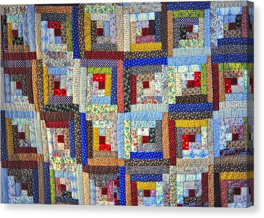 Amish Quilt Canvas Print