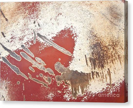 Amoeba  Amoebae Abstract Canvas Print