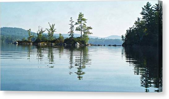 Among The Islands Canvas Print