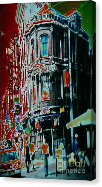 Amsterdam Abstract Canvas Print