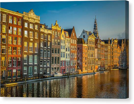Amsterdam Canvas Print by Neah Falco