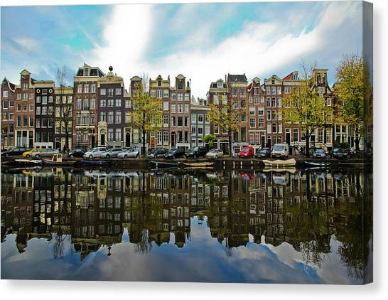 Amsterdam Canvas Print by Ruy Barbosa Pinto
