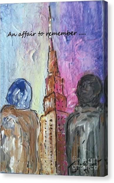 An Affair To Remember Canvas Print