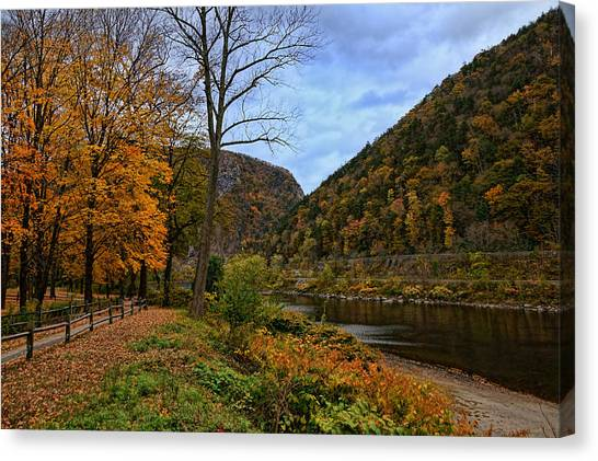 An Autumn Day Canvas Print by Lanis Rossi