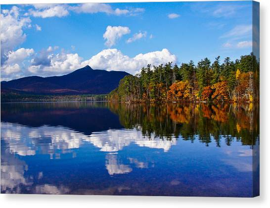 An Autumn Evening On Lake Chocorua Canvas Print