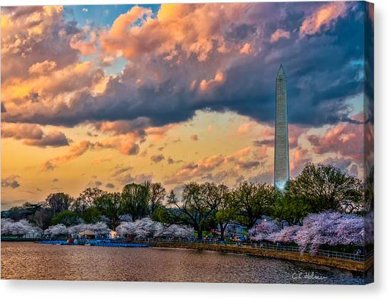 An Evening In Dc Canvas Print