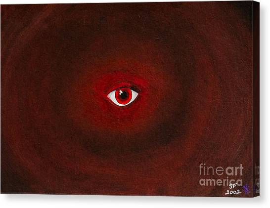 An Eye Is Upon You Canvas Print