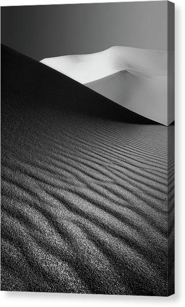 Iranian Canvas Print - An Ice Hill In Desert ! by Ali Barootkoob