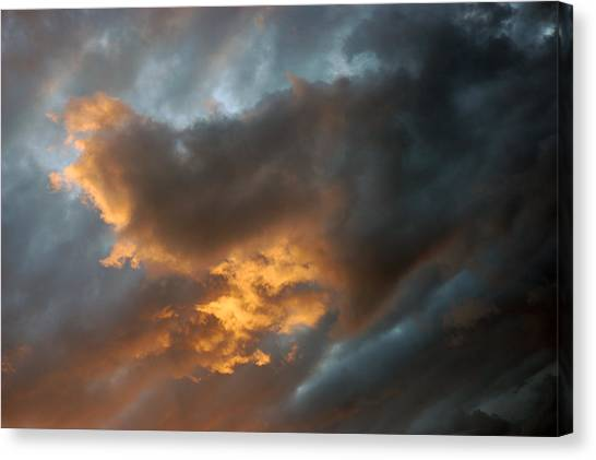 .....an Ill Wind That Blows Canvas Print