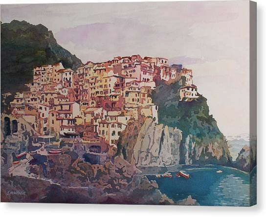 An Italian Jewel Canvas Print