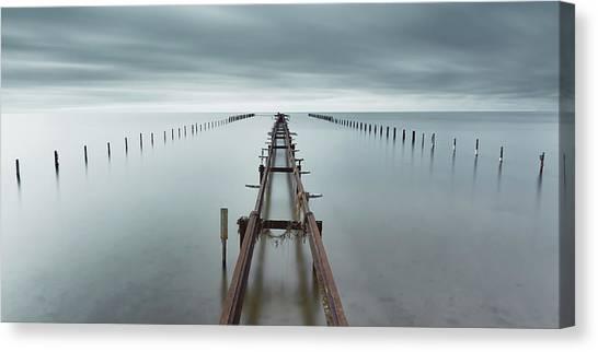 Sweden Canvas Print - An Ocean Between Us by Mats Reslow