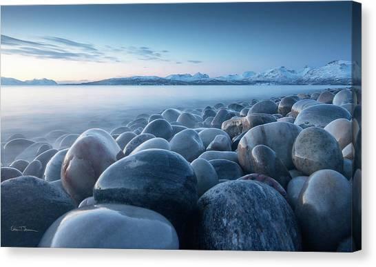January Canvas Print - An Ocean Of Time by Ebba Torsteinsen Jenssen