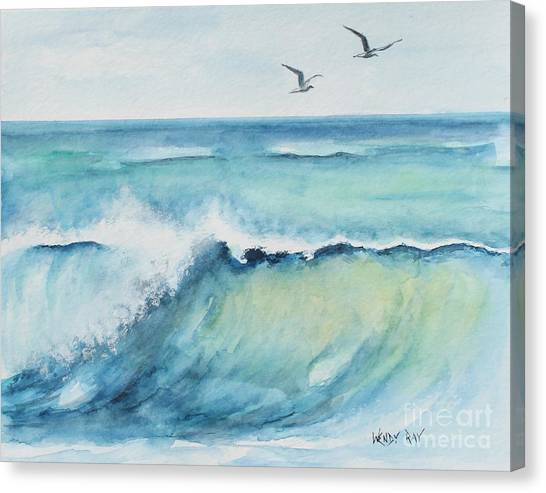 An Ocean's Wave Canvas Print