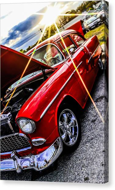 An Oldie But A Goody  Canvas Print by Chris Mitchell