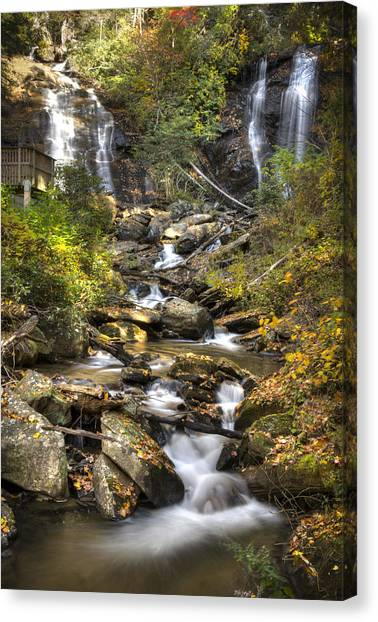 Ana Ruby Falls In Autumn Canvas Print