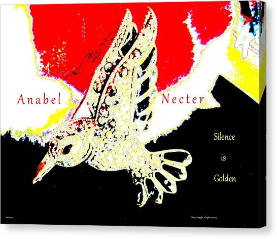 Anabel Necter Canvas Print by Artscana Images