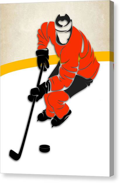 Anaheim Ducks Canvas Print - Anaheim Ducks Rink by Joe Hamilton