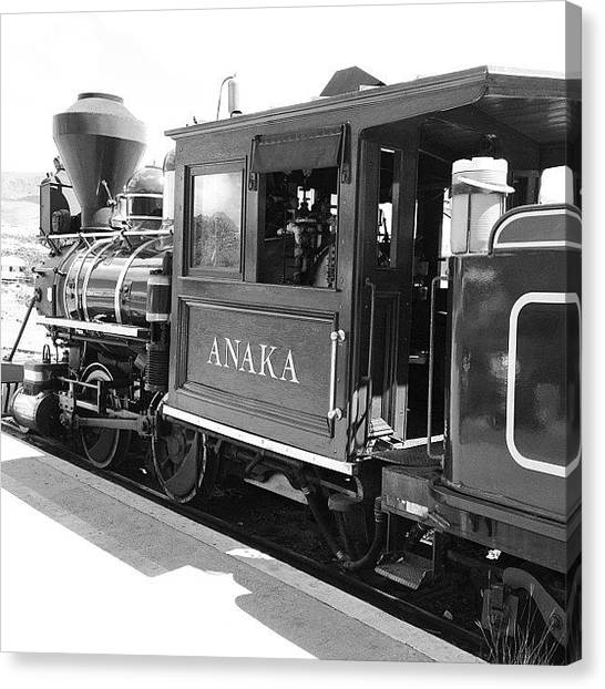 Trains Canvas Print - Anaka by Darice Machel McGuire