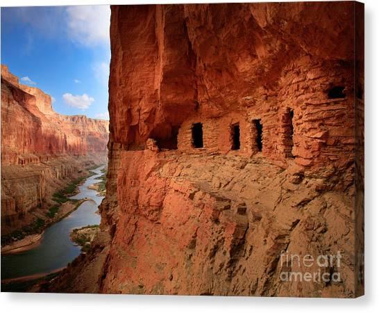 Anasazi Granaries Canvas Print