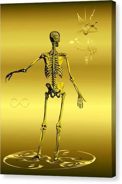 Anatomia Fatis Canvas Print