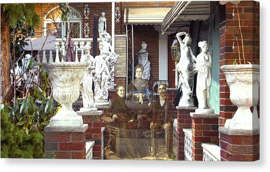 Ancestral Home Canvas Print by Roslyn Rose