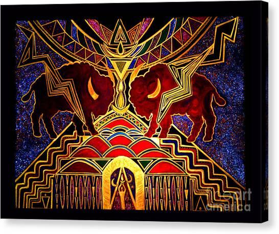 Ancestral Invocation Canvas Print