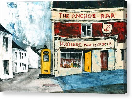 Anchor Bar  Carlingford  Louth Canvas Print