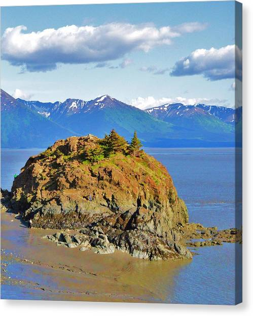 Anchorage Alaska Canvas Print