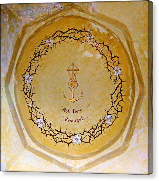 Coptic Art Canvas Print - Anchored by Stephen Stookey
