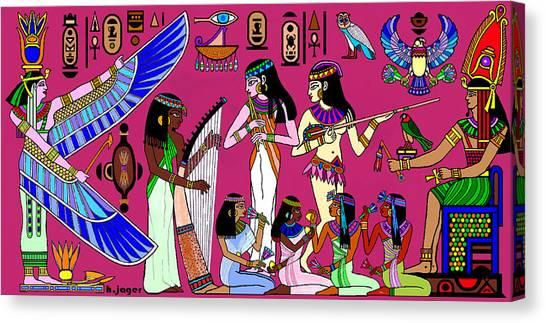 Ancient Egypt Splendor Canvas Print