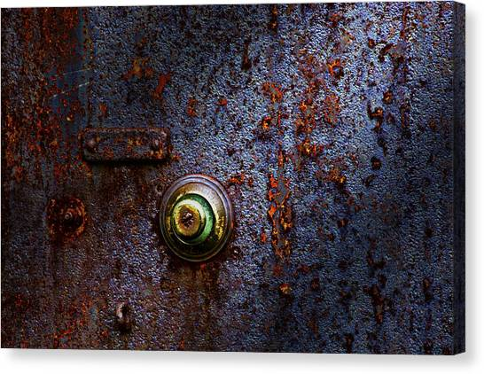 Red Door Canvas Print - Ancient Entry by Tom Mc Nemar