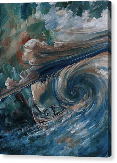 Ancient Storm Canvas Print