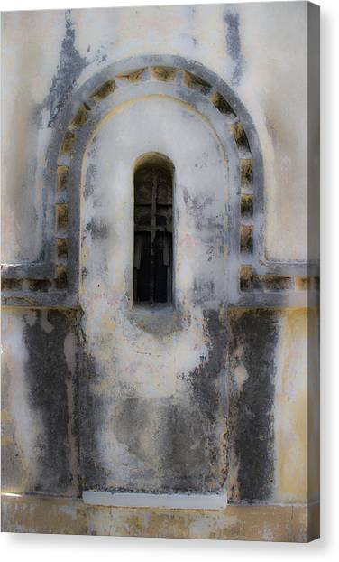 Ancient Window Canvas Print