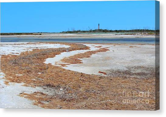 Anclote Key Island Lighthouse Canvas Print