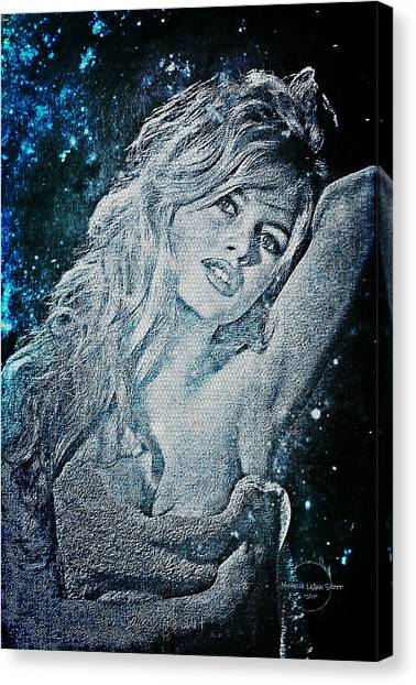 And God Created Woman Canvas Print