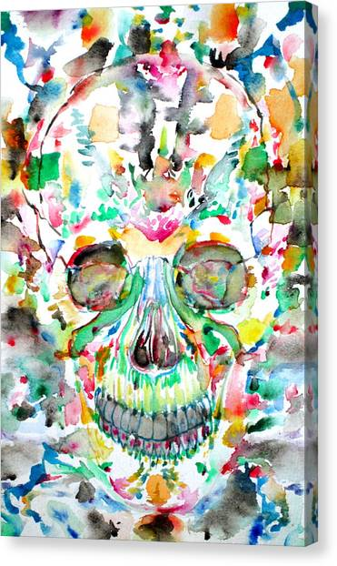 Santeria Canvas Print - And Joining At Last Its Mighty Origin by Fabrizio Cassetta
